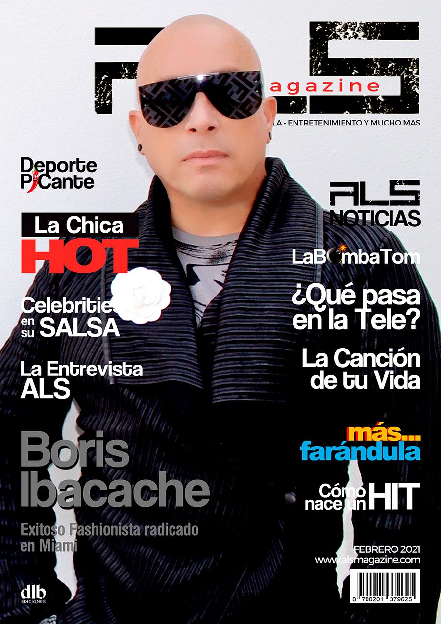 Boris Ibacache portada ALS Magazine