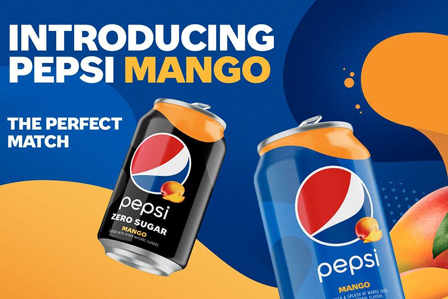 Pepsi® presentará Pepsi Mango, el primer refresco de cola de sabor permanente en cinco años