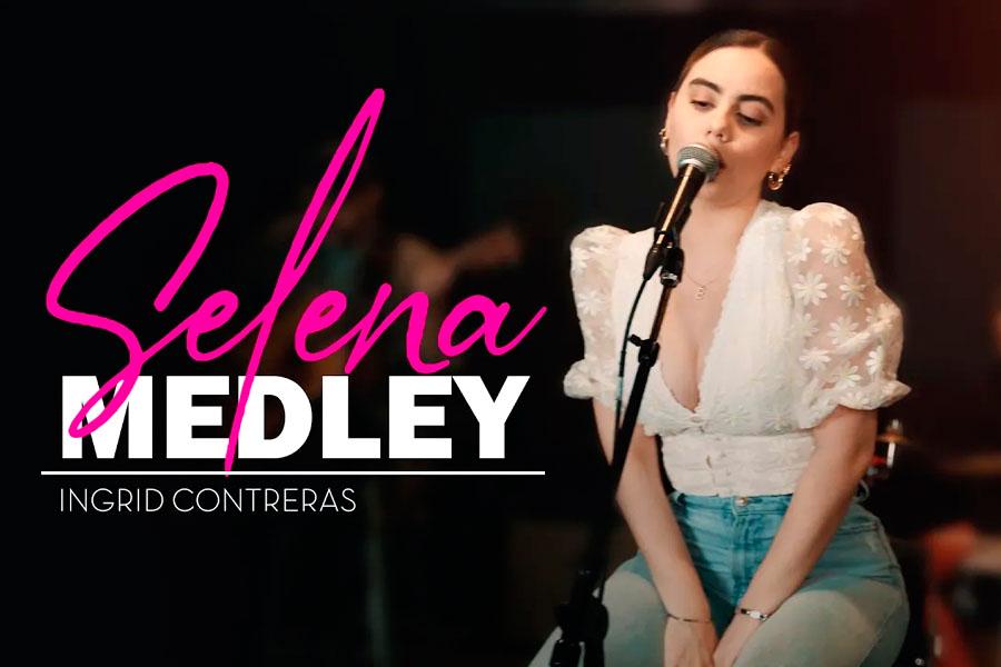 La estrella de Mariachi-pop Ingrid Contreras estrena un Medley en honor a la Reina del Tex Mex Selena Quintanilla