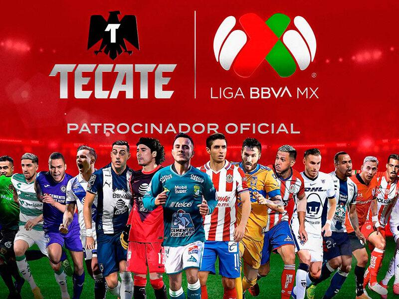 Tecate® anuncia patrocinio oficial de los EE.UU. a la LIGA BBVA MX