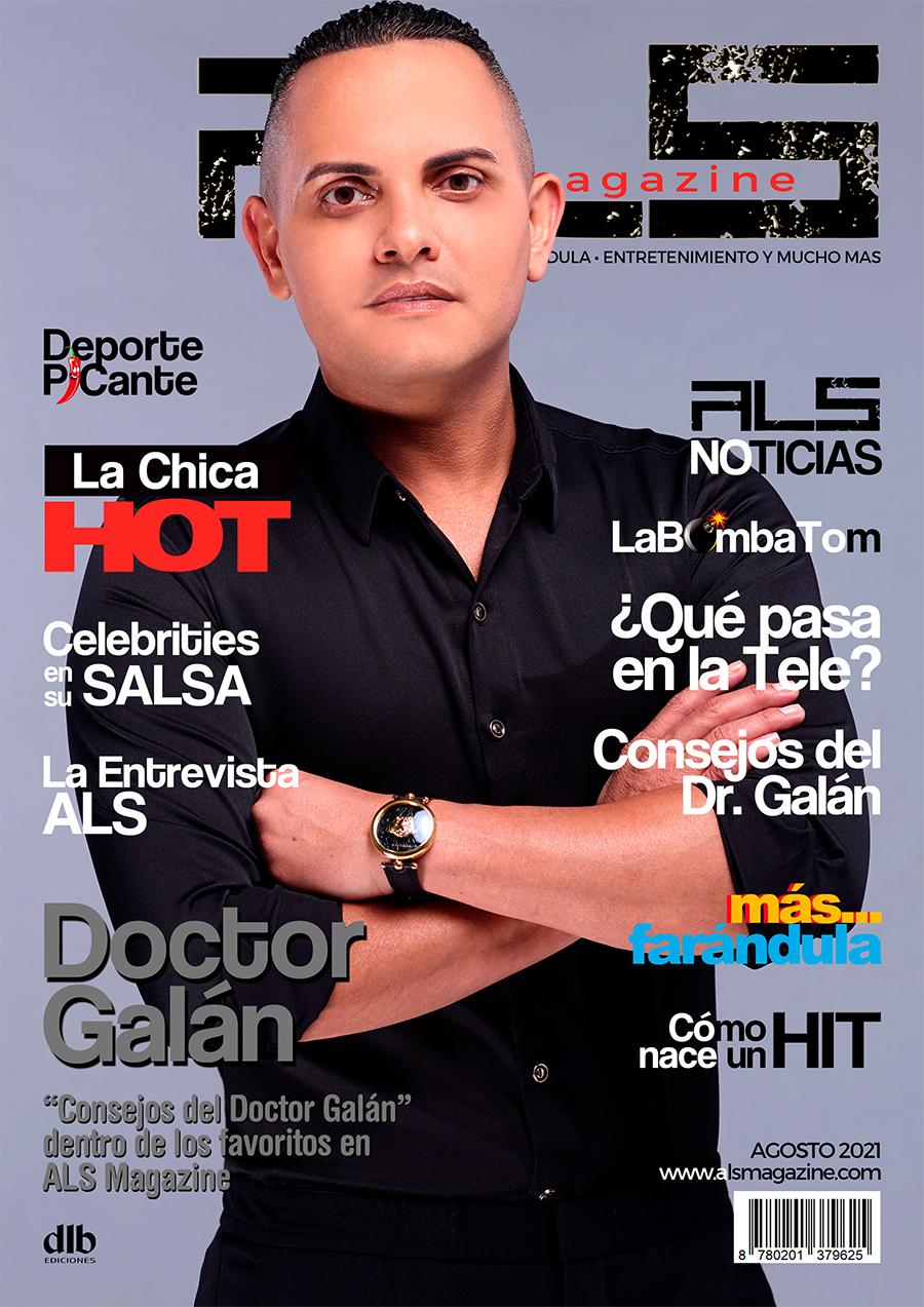 Doctor Galán portada ALS Magazine