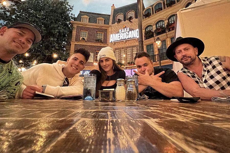 Leo Anthony selecciona a la Ciudad del Pecado para grabar su nuevo videoclip